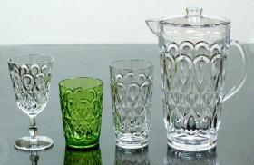 海洋星沙拉組, 水杯, 低杯, 高杯, 水壺, 高腳杯, 塑膠餐具