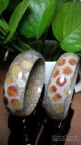 珊瑚玉手鐲, 菊花玉手鐲, 珊瑚玉, 珊瑚玉飾品