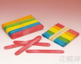 彩色冰棒棍