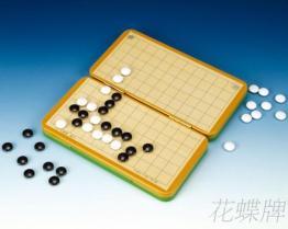(折疊式彩色鐵盒) 磁鐵圍棋