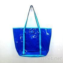 透明女用包, PVC透明袋, 防水袋, 海灘袋