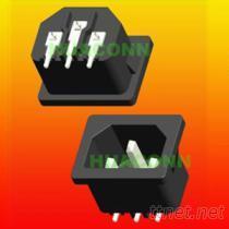 HUACONN大量供應CB認證品字型電源插座