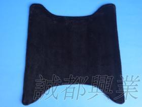 A08-1,黑色長毛,機車腳踏墊,不含透明套