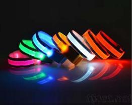 LED光纖運動手臂環