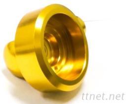 CNC車床加工 車輛零件(方向燈)黃