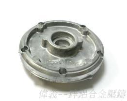 锌铝合金压铸-马达盖