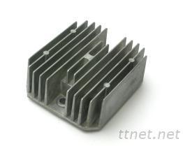 鋁壓鑄-機車散熱片