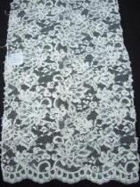 新娘縫珠全疋花