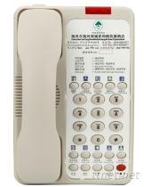诺巴玛酒店专用电话机, 客房专用电话机
