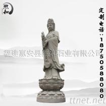 净瓶观音, 寺庙雕刻佛像