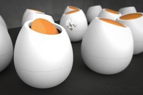 蛋型垃圾桶
