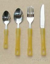 塑膠把手食具