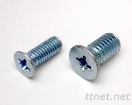 皿頭螺絲-平頭螺絲