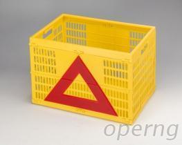警示三角摺叠篮