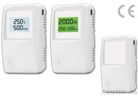 IC2000 溫濕度 CO CO2信號偵測器, 傳送器