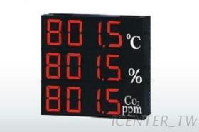 SD430溫度,溼度,壓力,氣體濃度信號顯示器 4吋