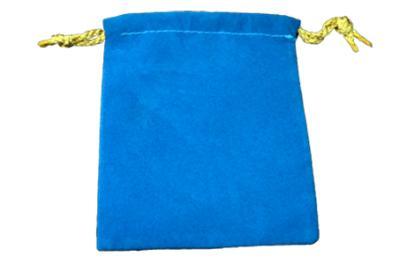 絨布袋-藍