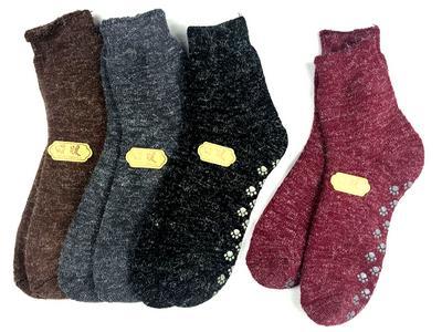 【3004】保暖安哥拉素面毛襪(標準長度)