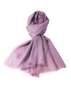 紫色超薄喀什米爾披肩