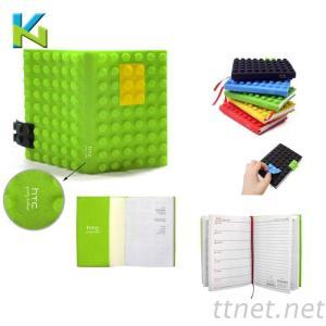 KN-硅胶笔记本套|创意促销礼品|文具礼品生产厂家