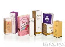 化妝品禮盒, 彩盒
