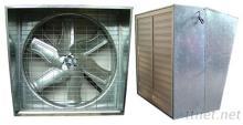 送风机 - PVC百叶窗+防水罩
