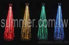 LED聖誕樹造型圓錐燈