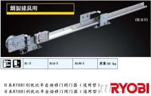 日本RYOBI利尤比(良明)半自動移門閉門器 SLS-2
