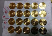金箔能量貼紙製作