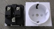 德国卡锁式防水插座, 欧式插座, 法式插座