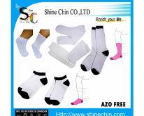 聚酯纖維空白襪子