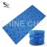 I - 1163 蓝色扶桑花 魔术头巾