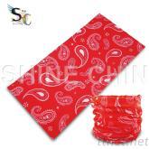 I - 1174 红白变形虫 魔术头巾