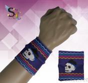 骷髏圖騰護腕 運動用護腕
