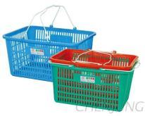 超市菜林, 塑膠籃