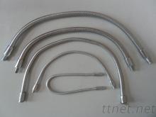 扫描枪金属软管 手持式条形码扫描仪鹅颈管 弹簧管厂家