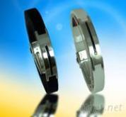 能量手环(白钢)