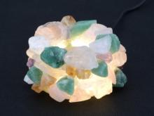 晶礦水晶燭台
