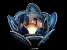 瑪瑙片燭台 LED燈飾
