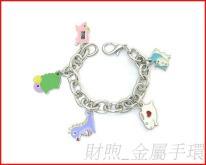 廠家直銷 金屬手環 金屬手鍊飾品 高質感 璀燦手鍊 造型手鍊 閨蜜手鍊 價優質佳
