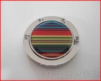 廠家直銷 可印logo貼紙 滴膠 包包掛勾 掛包鉤 品質保證 彩虹旋轉掛勾