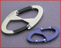 高质订制 双配件登山扣 高光泽度铝钩 专业厂家