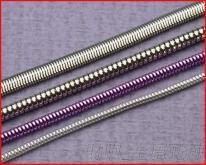 廠商直銷 金屬蛇鍊 服裝 牛仔褲 箱包配飾蛇鍊 圓蛇鍊 扁蛇鍊 方鍊 是裝飾工藝品 時尚的首選
