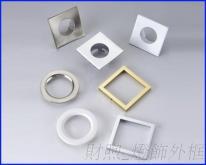廠家直銷 燈飾外框 燈飾前蓋 燈飾五金 燈飾面蓋殼 訂製加工