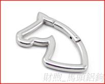 高品质 马头铝钩 异形登山扣 创意造型登山勾 专业工厂提供