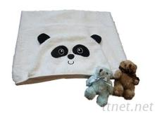 美國亞馬遜熱賣嬰兒包巾-熊貓 造型包巾
