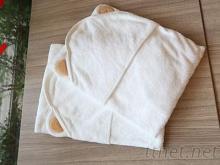美國亞馬遜熱賣嬰兒包巾-小熊造型包巾