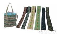 提花帶, 織帶揹包, 織帶