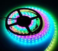 LED幻彩燈條 全彩燈條IC2812-12V-60燈