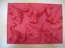 恐龍矽膠蛋糕模